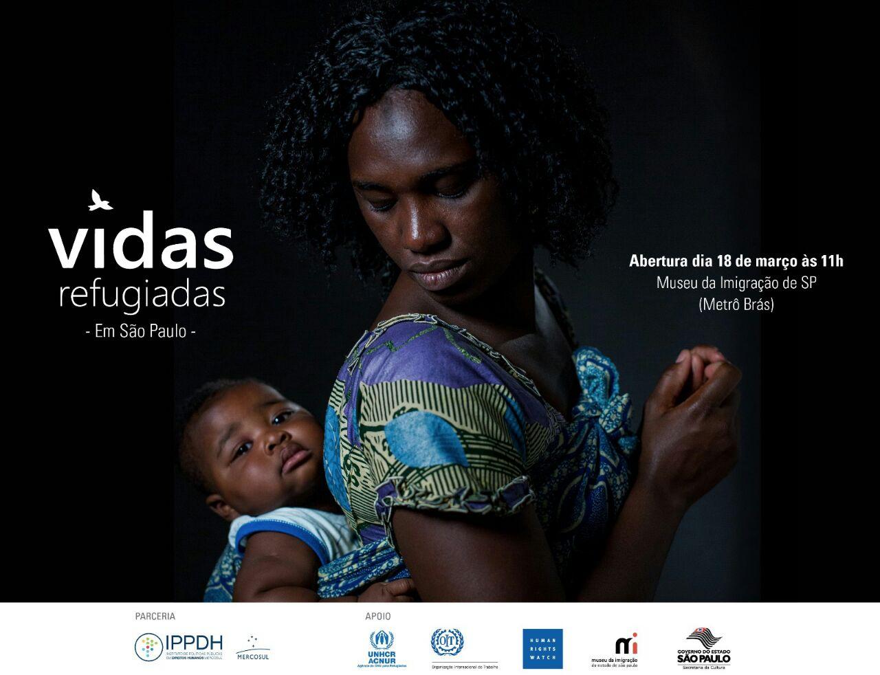 Vidas Refugiadas_cartaz divulgacao