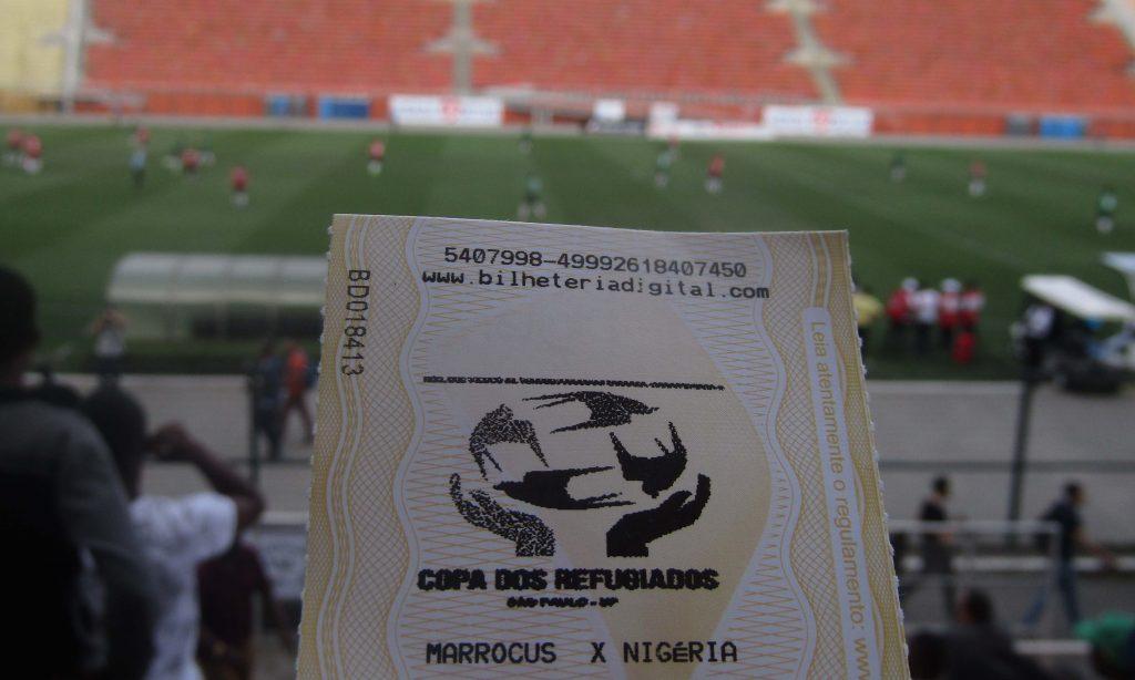 Nigéria e Marrocos disputaram a final da quarta edição da Copa dos Refugiados no Pacaembu (Fotos: Géssica Brandino)